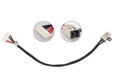 DC Power Jack Harness Cable for Dell Inspiron 15-3000 3551 3558 450.03006.0001