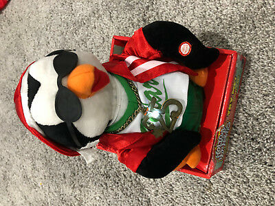 NEW Gemmy Rapper Penguin Animated Christmas Holiday Hip Hoppers Jingle Bells