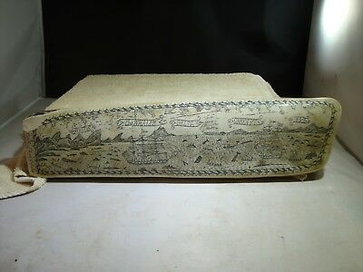 Scrimshaw Whalebone FOGOS, The Whaler, Delta, Green Pt, 1842 and more