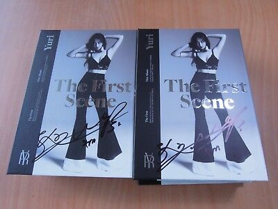 Yuri (SNSD) - The First Scene (1st Mini Promo) with Autographed (Signed)