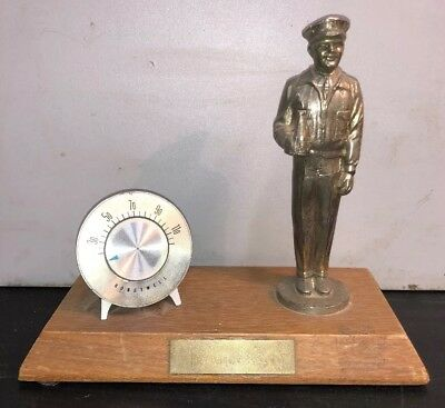 Vintage Trophy Award For Honeywell Pepsi Coca Cola Guy Figurine Holding Soda