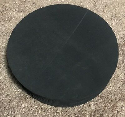 """Viton Rubber Gasket Material - 5.5 inch Disc x 1/8"""" - 1 piece"""