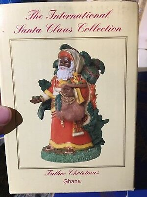 International Santa Claus Collection SC56 Father Christmas Ghana - Still In Box