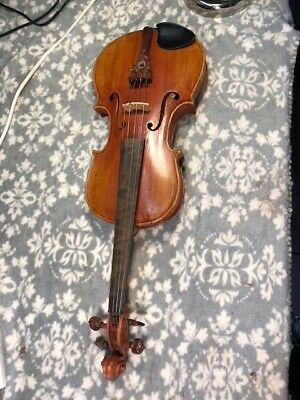 Old full-sized violin Strad copy excellent condition ready to play