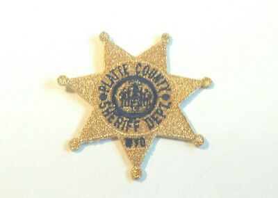 Platte County Wyoming Sheriff Hat Patch