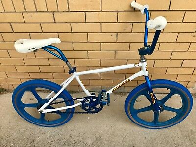 1982 Malvern Star Super Max Cr-Mo Old School Bmx Skyway Tuff Ii Metal Flange