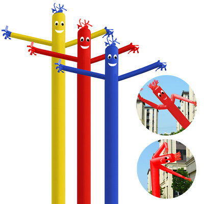 10FT 20FT Wind Dancer Air Puppet Sky Flag Wavy Man Dancing Inflatable Tube Sign