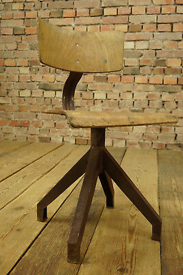 Industry Vintage Swivel Chair Architects Office Chair Workshop Chair Loft