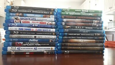 Blu-ray Bilingual English and French (Quebec version) Comedy Thriller and more++