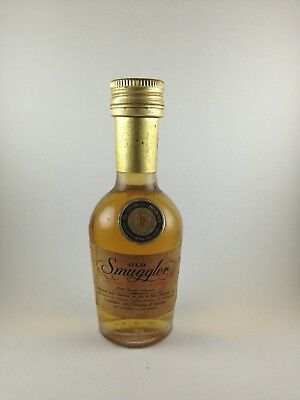 Old Smuggler Blended Scotch Whisky Rare 1970's Miniature