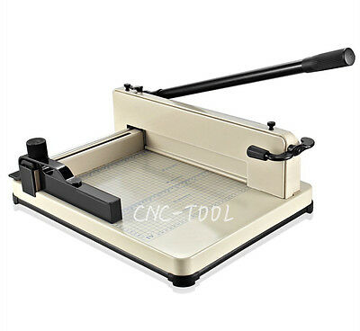 17 inch A3(430mm) Heavy Duty Guillotine Paper Cutter Office Trimmer Cutting Tool