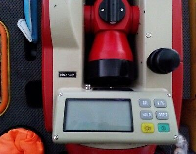 CST/Berger 56-DGT10 Electronic Digital Theodolite with Case. Great Condition.