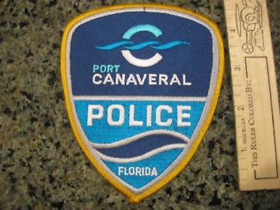 Port Canaveral Florida Police patch NICE FL