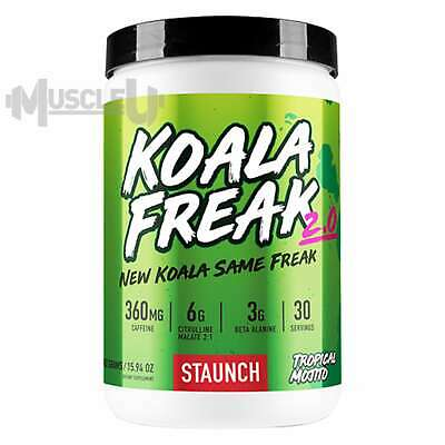 Staunch Nutrition Koala Freak - 30 Serves CHOOSE FLAVOUR - Pre Preworkout