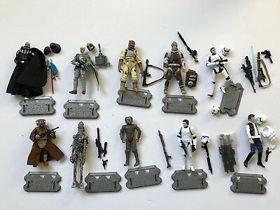 Star Wars Lot - Bounty Hunters - Boba Fett - Stormtrooper - Solo - IG-88 - MORE