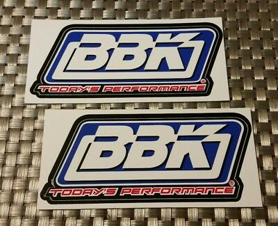 """BBK PERFORMANCE racing decals stickers 2X5"""" FREE SHIPPING offroad drags hotrods"""