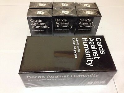 Cards Against Humanity full set Base Game + 6 expansions, Free US 3-day shipping