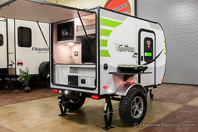 New 2019 E12RK Ultra Lite Off Road Travel Trailer Like Rockwood Geo Pro G12RK