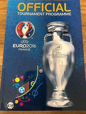 Official Tournament Programme UEFA Euro 2016 France ENGLISH