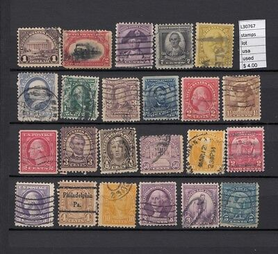 Stamps Lot United States Used  (L30767)
