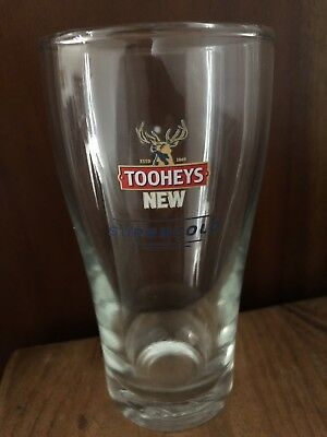 Tooheys New Supercold Middy Pot Glass!!! Rare Collectable