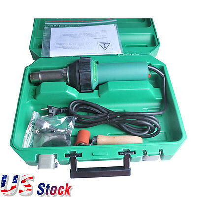 US Stock-110V 1600W Affordable Easy Grip Hand Held Plastic Hot Air Welding Gun