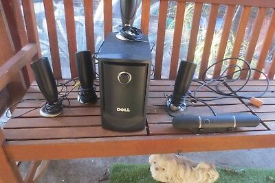 Dell 5.1 PC Surround Sound Speakers System MMS 5650 computer speakers