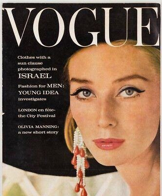 TANIA MALLET John Deakin FRANCIS BACON Mary Quant CARTIER Men In VOGUE July 1962