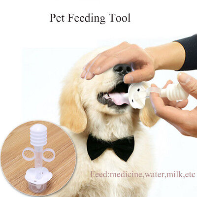 Utensil Water Dispenser Silicone Syringe Pet Medicine Feeder Feeding Device