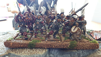 Warhammer Fantasy Imperium/ AoS Free Peoples 20 Bihandkämpfer top bemalt rar