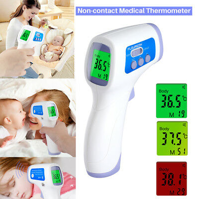 Non-Contact Forehead Infrared Medical Digital Thermometer Baby Adult Body Care A