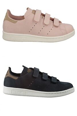 ADIDAS SCARPE SNEAKERS Donna Women s Shoes Stan Smith Clean Leather ... 3d0c6eed376