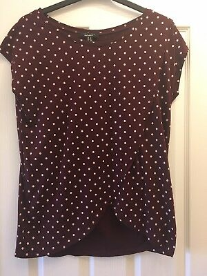 nursing/maternity top size 14 New Look Worn Once