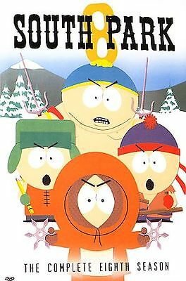 South Park - The Complete Eighth Season (DVD, 2006, 3-Disc Set)