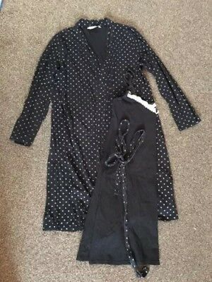 Blooming Marvellous Nightie And Dressing Gown Size M