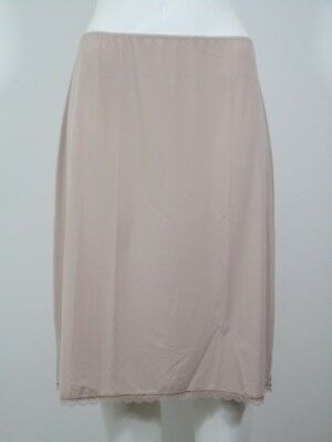 """New Ex Marks & Spencer Cool Comfort Waist Slip Cling Resistant Fawn 14- 23"""""""