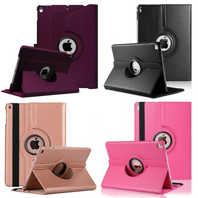 360° Rotating Leather Stand Smart Case Book Cover For iPad Pro Samsung Tablet