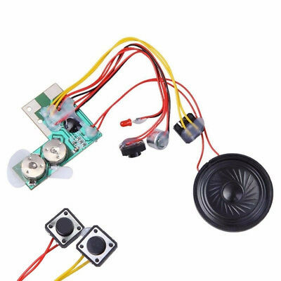 10S Talking Button Sound Voice Music Recordable Module Chip for Greeting Card UK