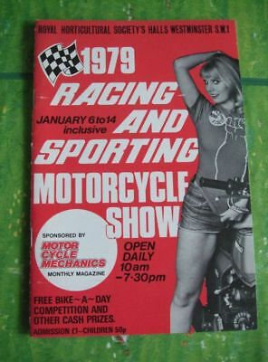 1979 Racing and Sporting Motorcycle Show Motorrad