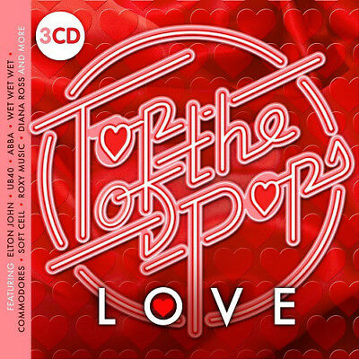 Various - Top Of The Pops Love - 3xCD Digipak (2018) - Brand NEW and SEALED