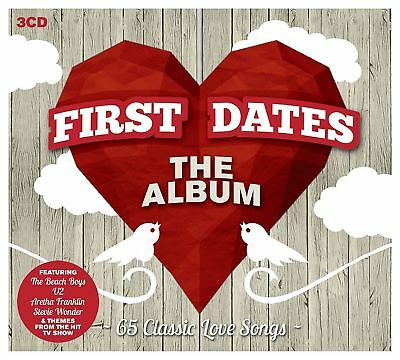 Various - First Dates The Album - 3xCD Digipak - Brand NEW and SEALED