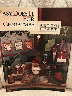 Art to Heart - Easy Does it for Christmas - quilting pattern book