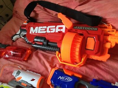 Nerf Guns Bundle With Accessories