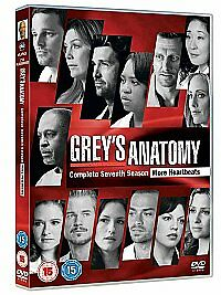 Grey's Anatomy Complete 7th Season Dvd Brand New & Factory Sealed