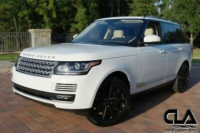 2016 Land Rover Range Rover  Range Rover HSE Supercharged CLA 281-651-2101 MSRP: $102,862.00