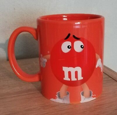 M&M Sammeltasse Orange