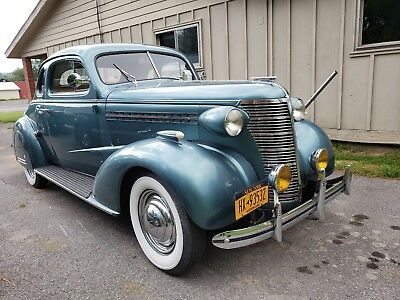 1938 Chevrolet Master deluxe  1938 Chevrolet business coupe master deluxe