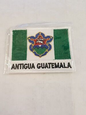 Antigua Guatemala Country Flag Sew On Patch