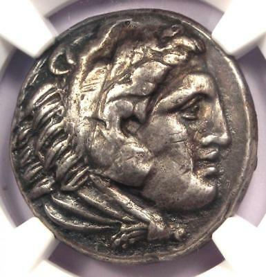 Alexander the Great III AR Tetradrachm Coin 336-323 BC - Certified NGC XF!