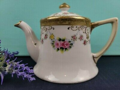 Vintage Teapot by Nippon - Pattern Number Unknown